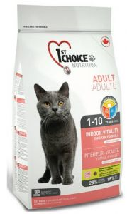 1st Choice Adult Cat Indoor Vitality Chicken 350g