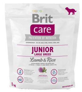 Brit Care New Junior Large Breed Lamb & Rice 1kg