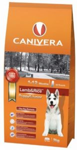 Canivera Puppy & Junior Lamb & Rice All Breeds 14kg + 3kg
