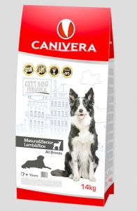 Canivera MATURE&SENIOR LAMB&RICE ALL BREEDS 14kg