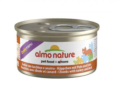 Almo Nature Daily Menu Cat puszka mus z łososiem 85g