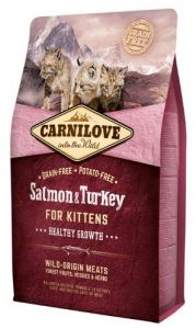 Carnilove Cat Salmon & Turkey for Kittens - łosoś i indyk 400g