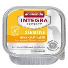 Animonda Integra Protect Sensitive dla psa kurczak + pasternak tacka 150g