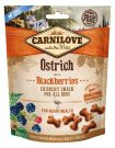 Carnilove Snack Fresh Crunchy Ostrich+Blackberries 200g