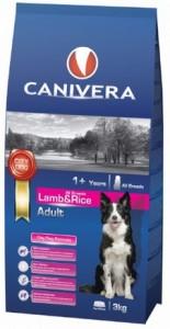 Canivera Adult Lamb & Rice All Breeds 14kg 2 szt