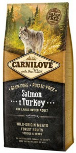 Carnilove Salmon & Turkey Large Adult - łosoś i indyk 1,5kg