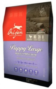 Orijen Puppy Large Breed 11,4kg + Ciastka Meat HIt 110g