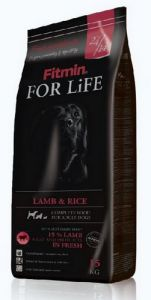 Fitmin Dog For Life Adult Lamb & rice 15kg