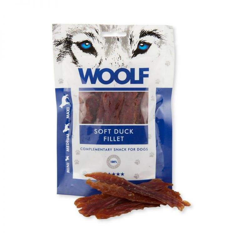 Woolf Przysmak SOFT DUCK JERKY FILLET 100g