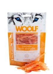 Woolf Przysmak WOOLF CHICKEN WITH SEAFOOD 100G