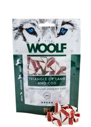 WOOLF LAMB AND COD TRIANGLE 100G