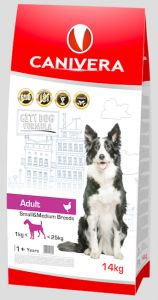 Canivera Adult Small & Medium Breeds 14kg
