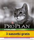 Purina Pro Plan Cat Sterilised Optirenal Turkey 400g + saszetki 3x85g