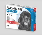 Frontline Spot-On Pies XL (40-60kg) 3 pipety