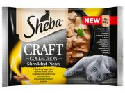 Sheba Craft Collection Smaki drobiowe saszetki 4x85g