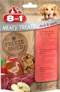 8in1 Dog Freeze Dried Duck Apple 50g