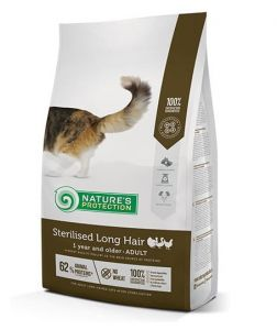 Nature's Protection Sterilised Long Hair Poultry 2kg