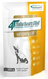 4T Veterinary Diet Urinary Cat - saszetka 100g 24szt. + 24szt. GRATIS